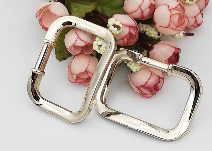 60*45mm Size Simple Square Replacement Dance Shoe Buckles For Ladies Shoe