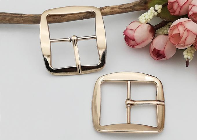 Shoe Strap Belt Web Adjust Roller Pin Antique Shoe Buckles Snap Rectangle Ring