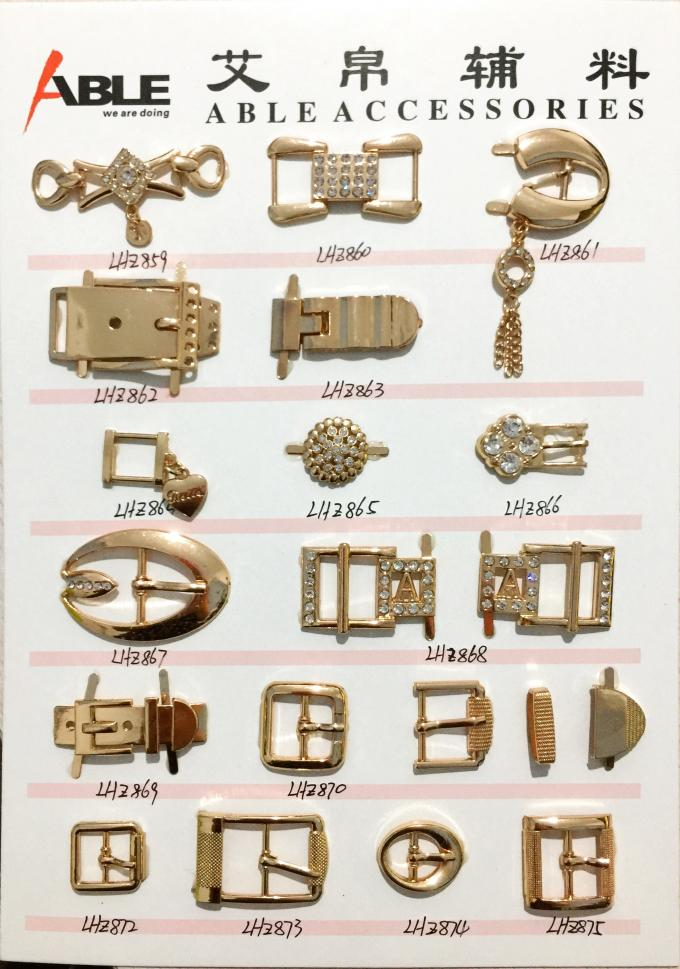 Shoelace Charm Enamel Alphabet Metal Shoe Buckles Environmental Protection