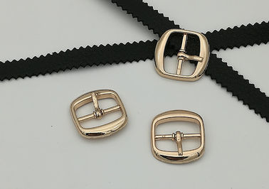 China ABLE Metal Shoe Buckles Simple Structure 18MM Corrosion Resistance Gold Color supplier