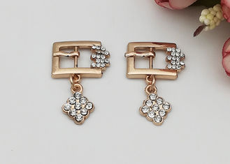 China Gold Plating Metal Shoe Buckles Clasp Buckle For Fashion Shoe Accessories supplier