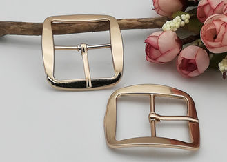 China Shoe Strap Belt Web Adjust Roller Pin Antique Shoe Buckles Snap Rectangle Ring supplier