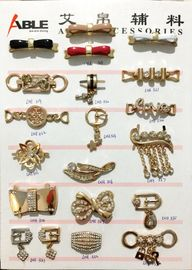 China Fashionable Zinc Alloy Material Shoe Buckle Replacement For Decoration supplier