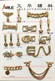 China Various Designs And Materials Zinc Alloy Buckle Silver Shoe Buckles For Shoes Trim supplier