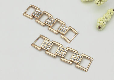 China ABLE Shoe Accessories Chains 58*15MM Shinny Beautiful Easy To Assemble distributor