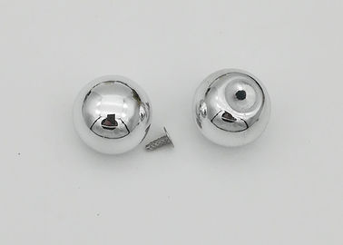 China Round Decorative Rivet Heads , Silver Acryl Decorative Pop Rivets Elegant factory