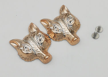 China Fox Shaped Decorative Rivet Heads Hardwearing Easy To Assemble Exquisite factory