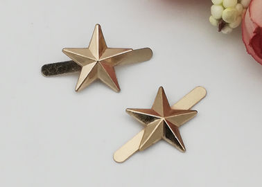 China Star Shape Zinc Alloy Buckle , Fashion Shoe Buckles For Gifts Shoe / Ladies Shoe distributor