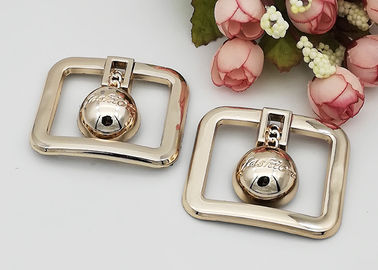 China Rectangle Fashion Resistant Ladies Shoe Buckles Replacement OEM Accepeted distributor