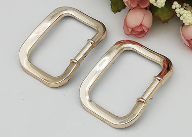 China 60*45mm Size Simple Square Replacement Dance Shoe Buckles For Ladies Shoe factory