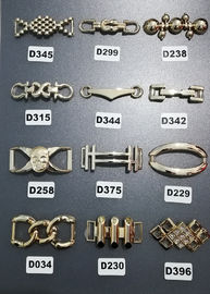 China Custom Decorative Shoe Buckles , Plastic Shoe Decorations For Shoe Accessory distributor