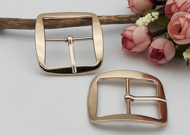 China Shoe Strap Belt Web Adjust Roller Pin Antique Shoe Buckles Snap Rectangle Ring distributor