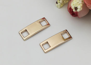 China Golden Color Decorative Shoe Zinc Alloy Buckle For Gifts Shoe / Ladies Shoe distributor